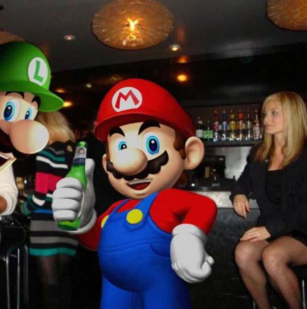 Χαρακτήρες video games σε καταστάσεις της πραγματικής ζωής (10)