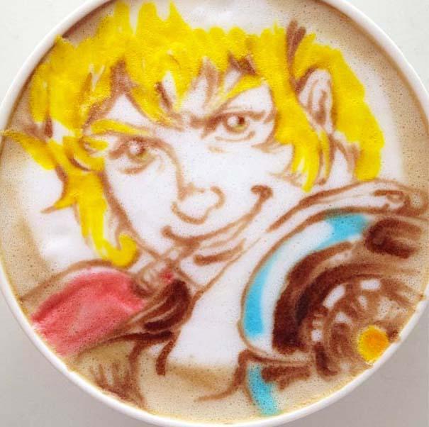 Υπέροχη τέχνη σε καφέ (5)