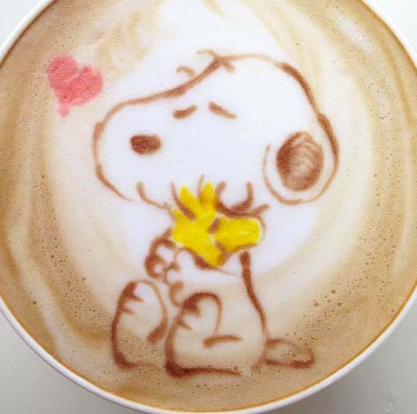 Υπέροχη τέχνη σε καφέ (12)