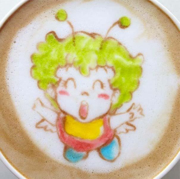 Υπέροχη τέχνη σε καφέ (18)