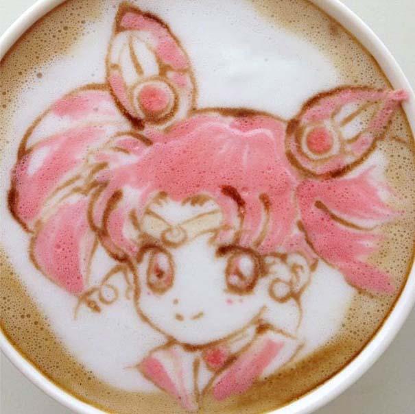 Υπέροχη τέχνη σε καφέ (24)