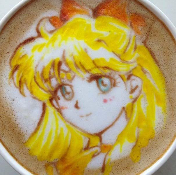 Υπέροχη τέχνη σε καφέ (25)