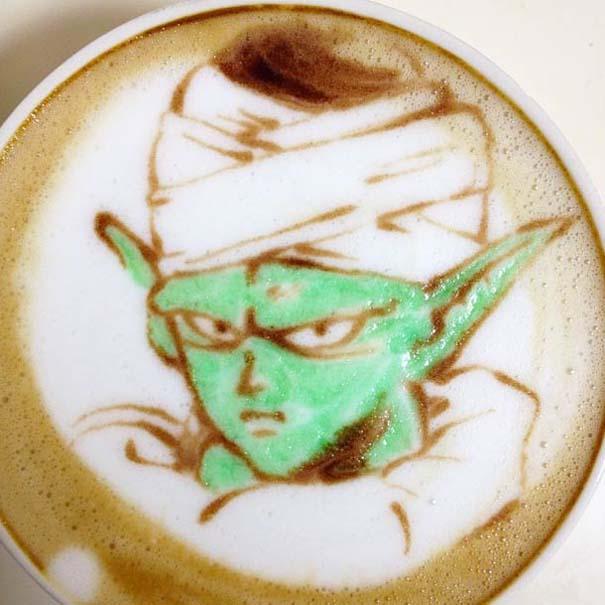 Υπέροχη τέχνη σε καφέ (26)