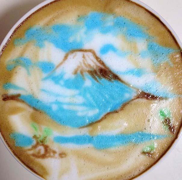Υπέροχη τέχνη σε καφέ (28)