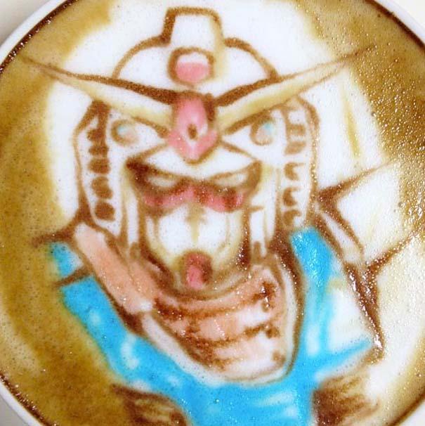 Υπέροχη τέχνη σε καφέ (30)