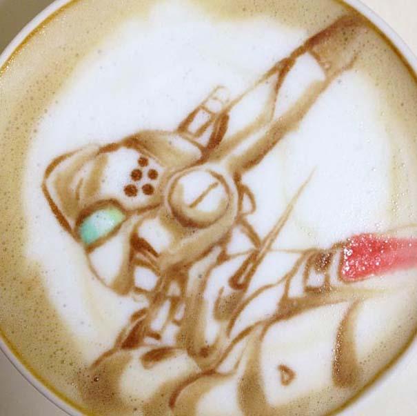 Υπέροχη τέχνη σε καφέ (32)