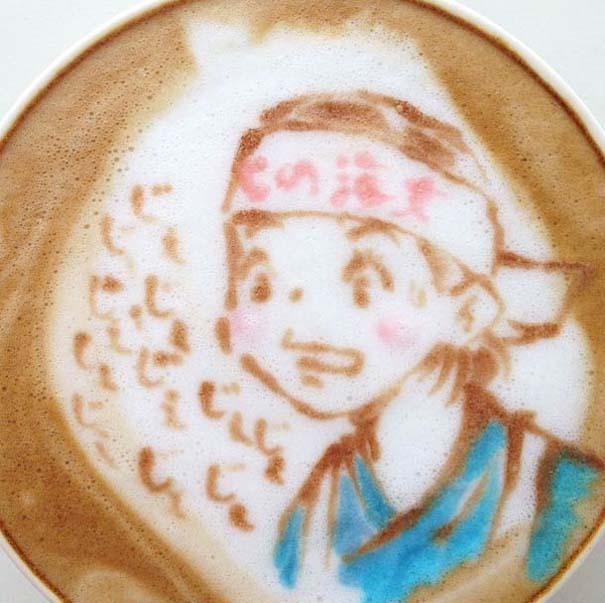 Υπέροχη τέχνη σε καφέ (1)
