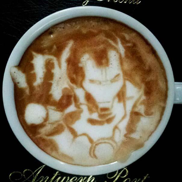 Υπέροχη τέχνη σε καφέ (8)