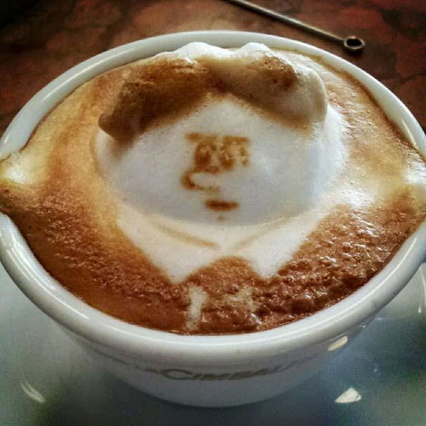Υπέροχη τέχνη σε καφέ (9)