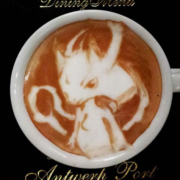 Υπέροχη τέχνη σε καφέ (10)