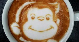 Υπέροχη τέχνη σε καφέ #7