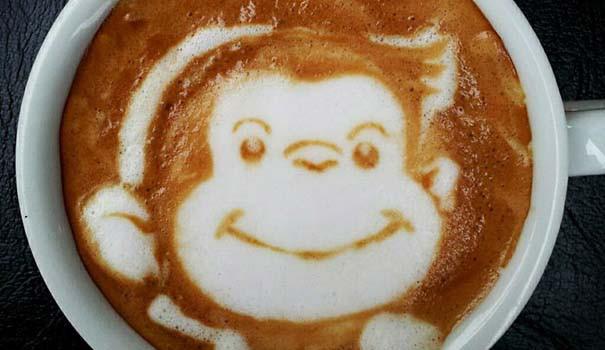 Υπέροχη τέχνη σε καφέ (14)