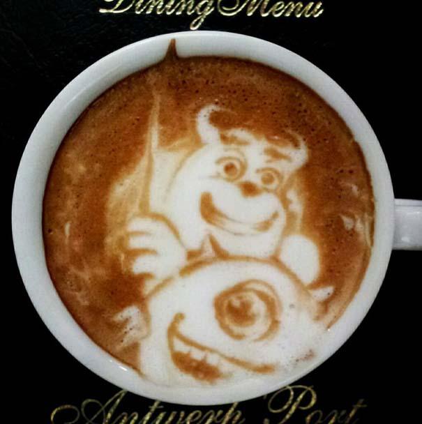 Υπέροχη τέχνη σε καφέ (16)