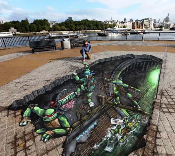 3D Ζωγραφιές στο δρόμο (22)