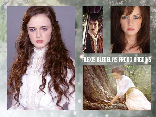 Αν στο Lord of the Rings πρωταγωνιστούσαν ηθοποιοί του αντίθετου φύλου (1)