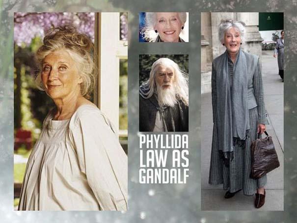 Αν στο Lord of the Rings πρωταγωνιστούσαν ηθοποιοί του αντίθετου φύλου (3)