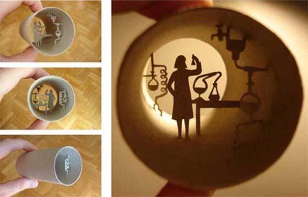 Απίστευτη τέχνη σε ρολό χαρτιού τουαλέτας (7)