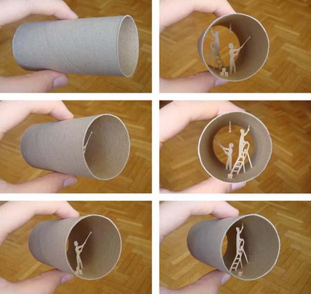 Απίστευτη τέχνη σε ρολό χαρτιού τουαλέτας (5) 88fbeea03a9