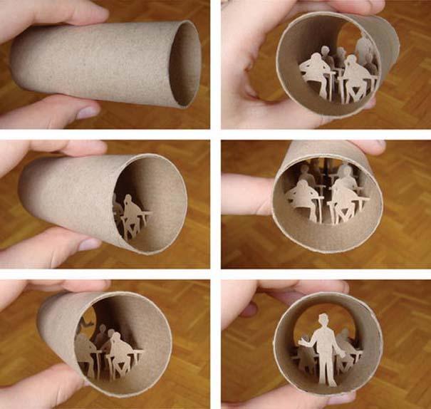 Απίστευτη τέχνη σε ρολό χαρτιού τουαλέτας (22)