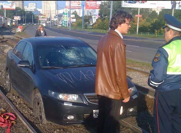 Όταν το αυτοκίνητο γίνεται θύμα... εκδίκησης! (9)