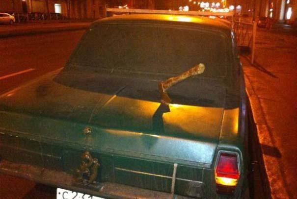 Όταν το αυτοκίνητο γίνεται θύμα... εκδίκησης! (23)