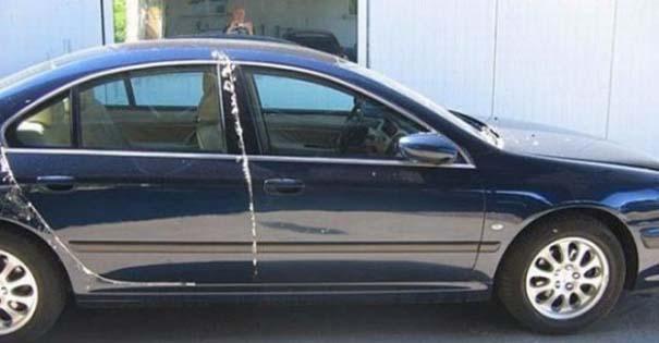 Όταν το αυτοκίνητο γίνεται θύμα... εκδίκησης! (2)