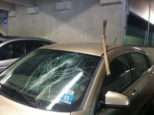 Όταν το αυτοκίνητο γίνεται θύμα... εκδίκησης! (6)