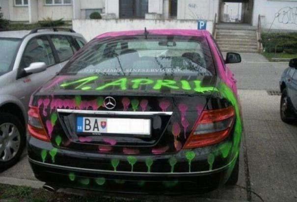 Όταν το αυτοκίνητο γίνεται θύμα... εκδίκησης! (7)