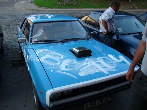 Όταν το αυτοκίνητο γίνεται θύμα... εκδίκησης! (10)