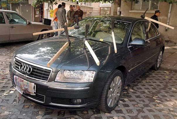 Όταν το αυτοκίνητο γίνεται θύμα... εκδίκησης! (12)