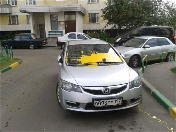 Όταν το αυτοκίνητο γίνεται θύμα... εκδίκησης! (15)