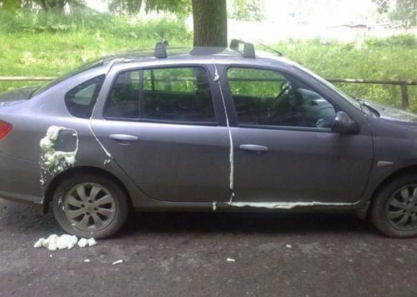 Όταν το αυτοκίνητο γίνεται θύμα... εκδίκησης! (21)
