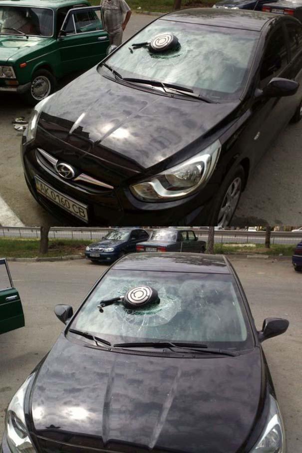 Όταν το αυτοκίνητο γίνεται θύμα... εκδίκησης! (24)