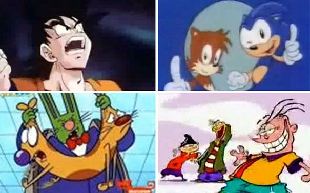 Τα κορυφαία cartoon της δεκαετίας του '90