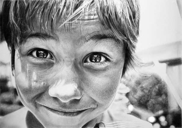 Εικόνες που θα δυσκολευτείς να πιστέψεις πως είναι απλά σκίτσα με μολύβι (5)