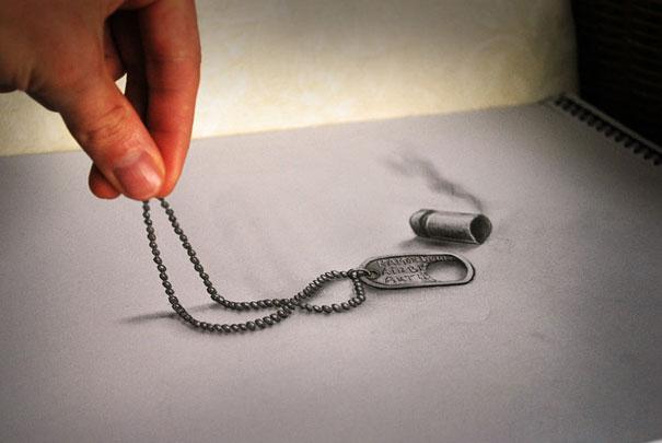Εκπληκτικές 3D ζωγραφιές που «βγαίνουν» απ' το χαρτί (4)
