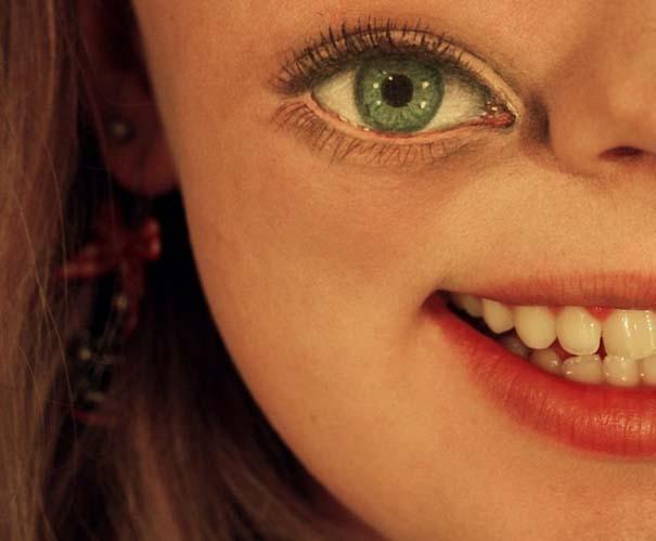 Makeup Artist ζωγραφίζει εκπληκτικές σκηνές στα βλέφαρα της (9)