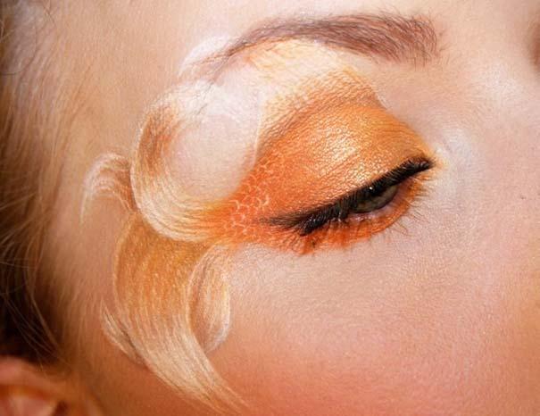 Makeup Artist ζωγραφίζει εκπληκτικές σκηνές στα βλέφαρα της (8)