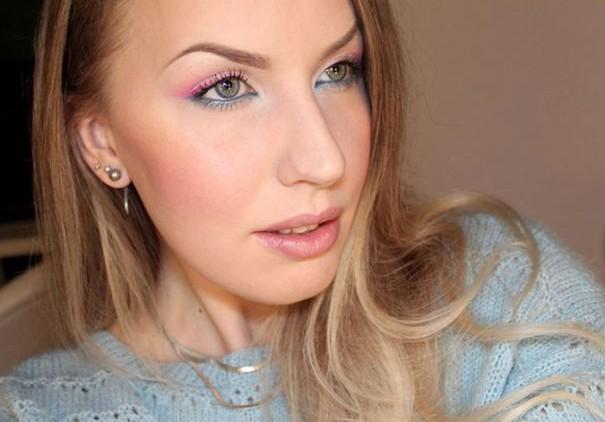 Makeup Artist ζωγραφίζει εκπληκτικές σκηνές στα βλέφαρα της
