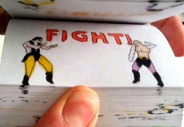 Επική μονομαχία Mortal Kombat... στο χαρτί (1)