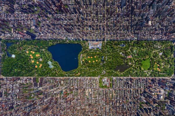 Γνωστά μέρη σε εκπληκτικές εναέριες φωτογραφίες (2)
