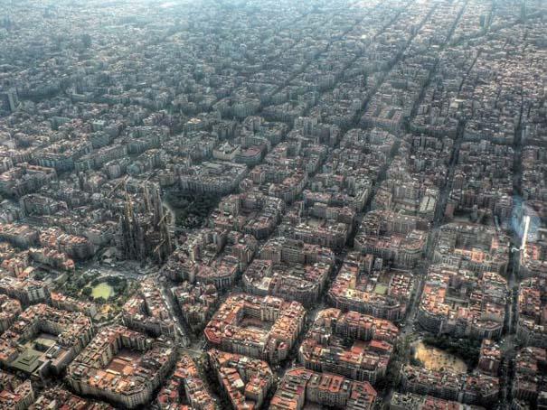 Γνωστά μέρη σε εκπληκτικές εναέριες φωτογραφίες (1)