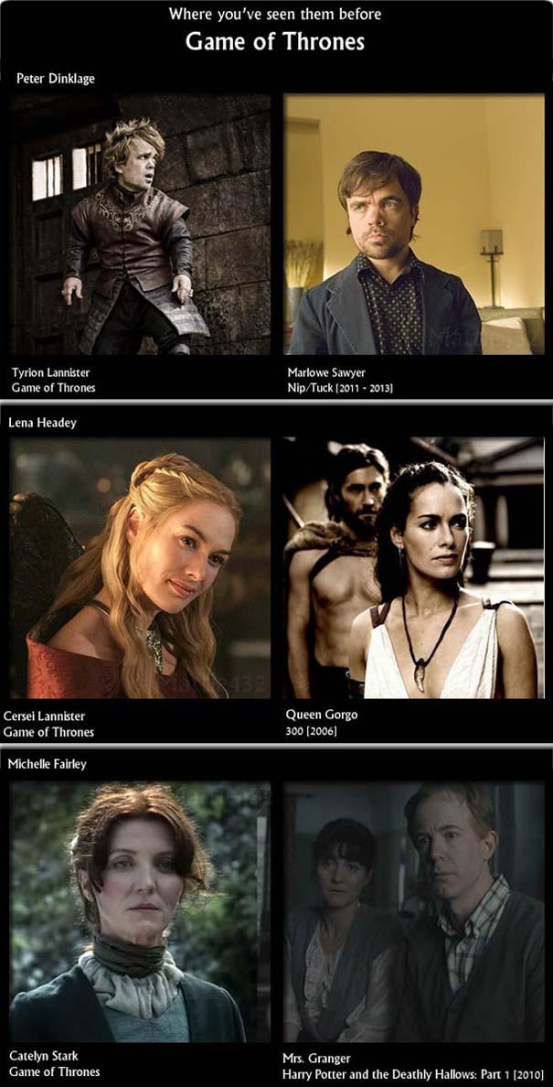 Οι ηθοποιοί του Game Of Thrones σε προηγούμενους ρόλους (2)