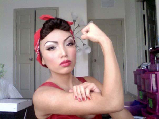 Η makeup artist που μπορεί να μεταμορφωθεί σε οποιονδήποτε (9)