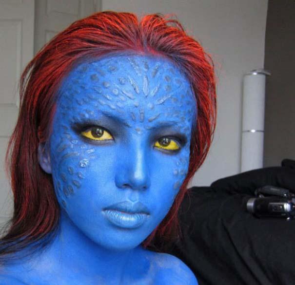 Η makeup artist που μπορεί να μεταμορφωθεί σε οποιονδήποτε (8)
