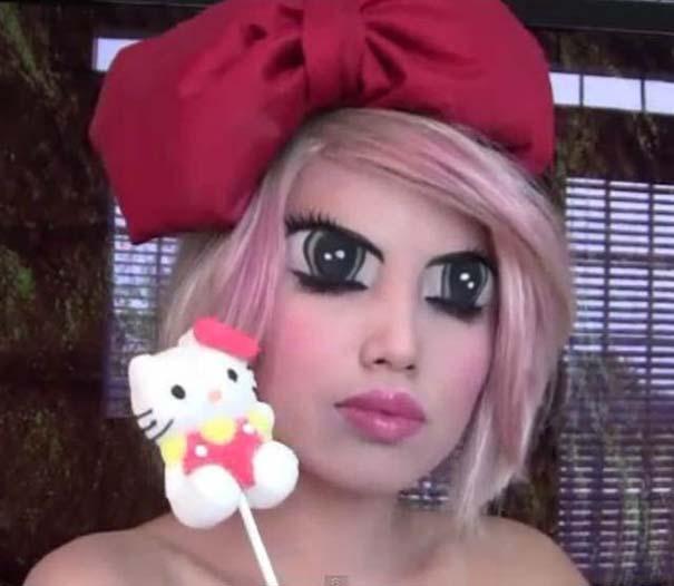 Η makeup artist που μπορεί να μεταμορφωθεί σε οποιονδήποτε (12)