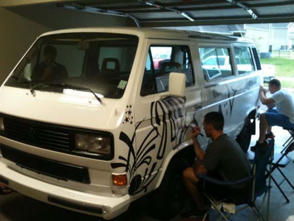 Μεταμόρφωση ενός παλιού Volkswagen Van (6)