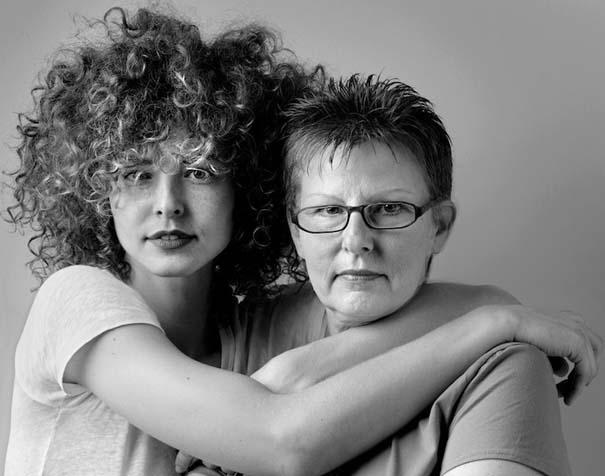 Μοντέλα φωτογραφίζονται με την μητέρα τους (6)