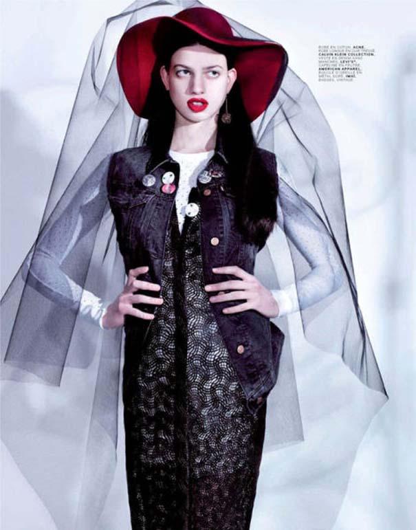 Ένα νεαρό Supermodel που προκαλεί απορίες... (3)