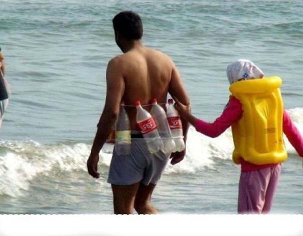 Παράξενα και τραγελαφικά στην παραλία (19)